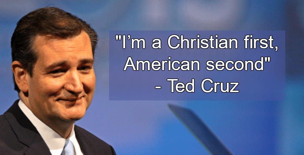 Ted Cruz Christian