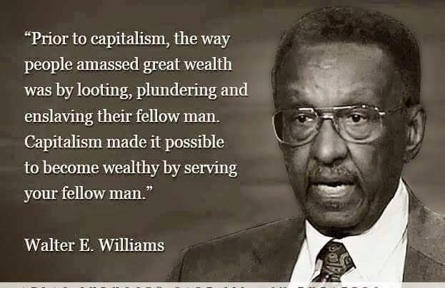 Walter Williams on capitalism