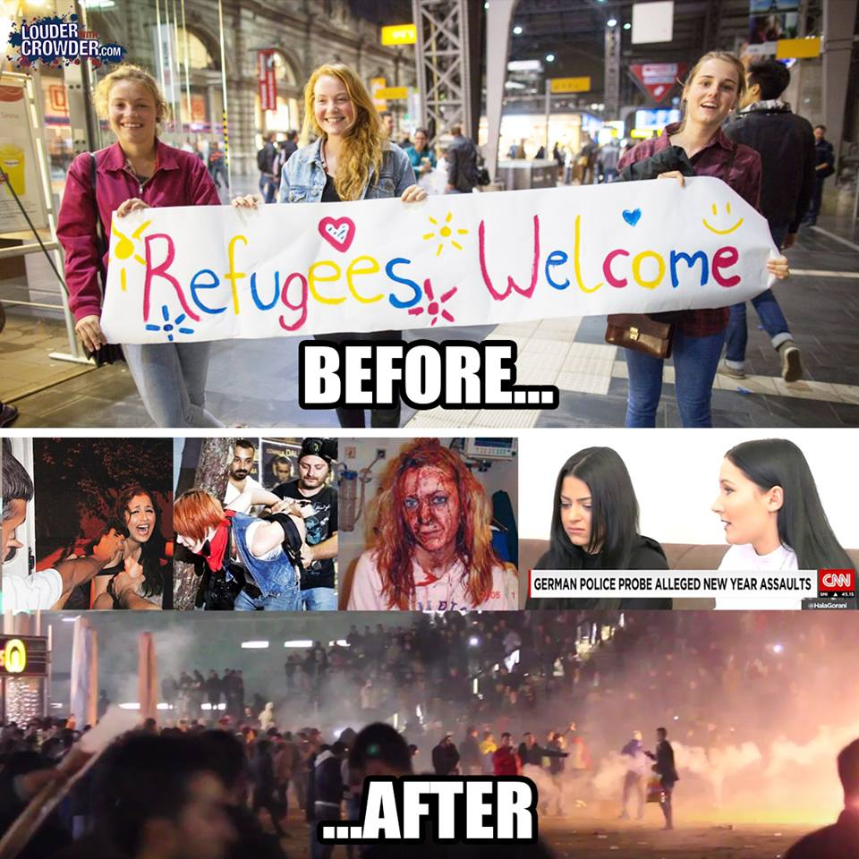 Welcoming refugees to Europe before and after