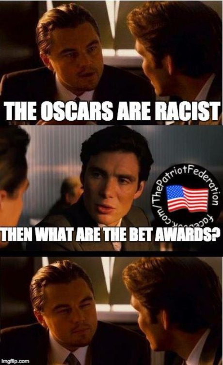 BET and Oscars racist