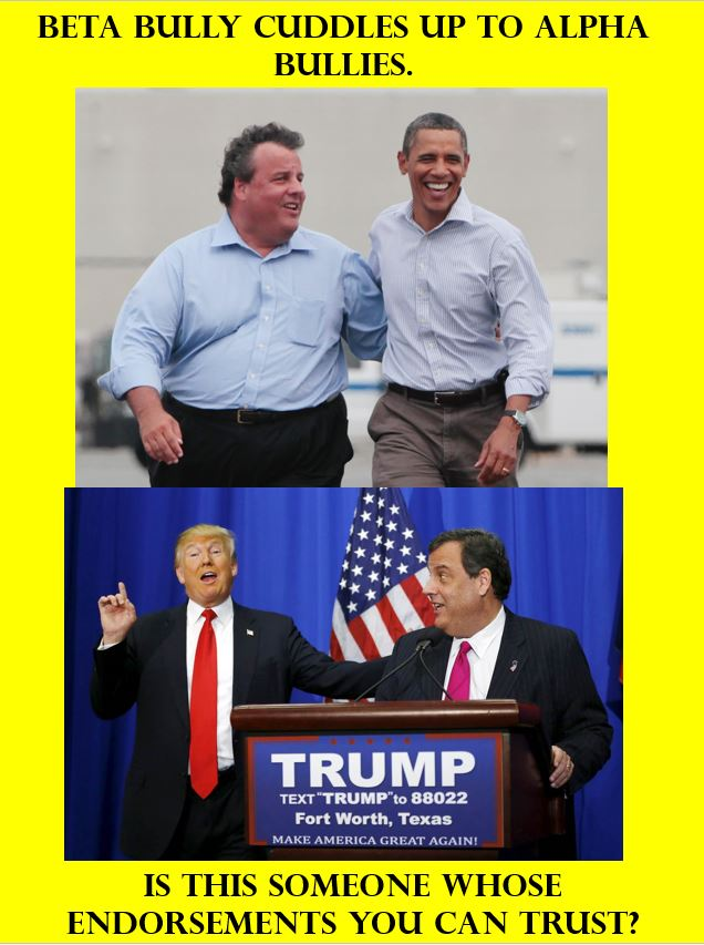Chris Christie, Obama, and Trump