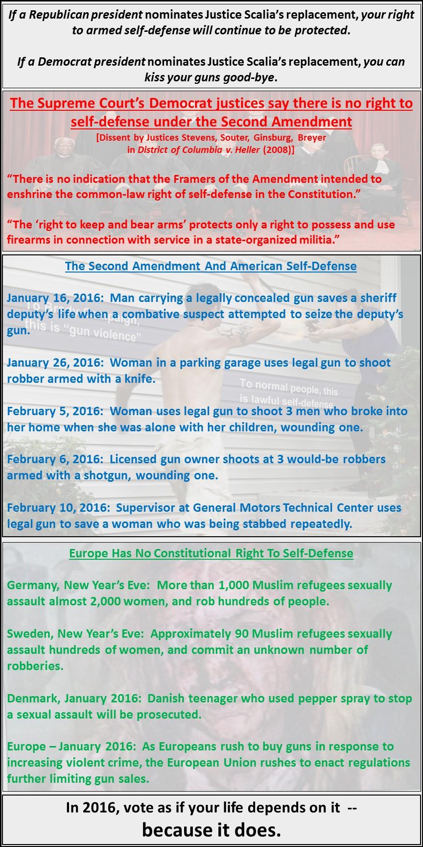Guns and judges