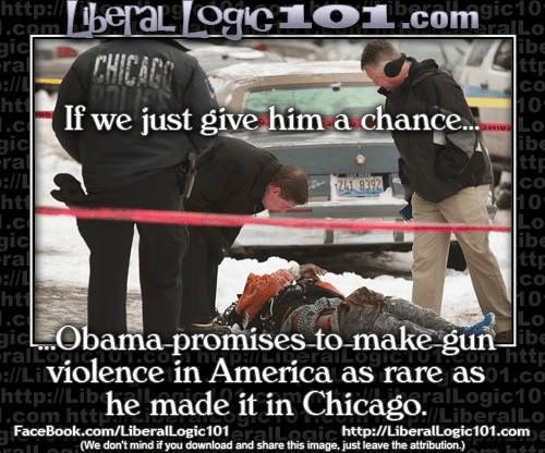 Obama guns Chicago