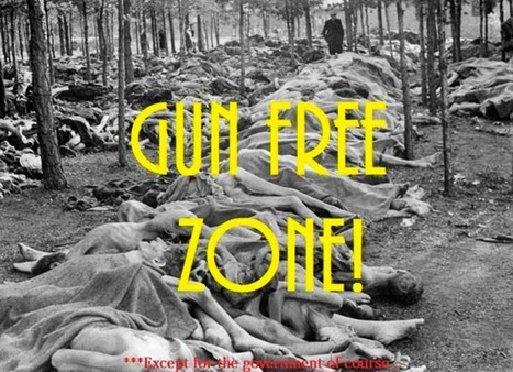 Mass murder sites are gun free zones