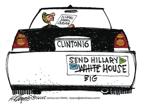 Send Hillary to the Big House