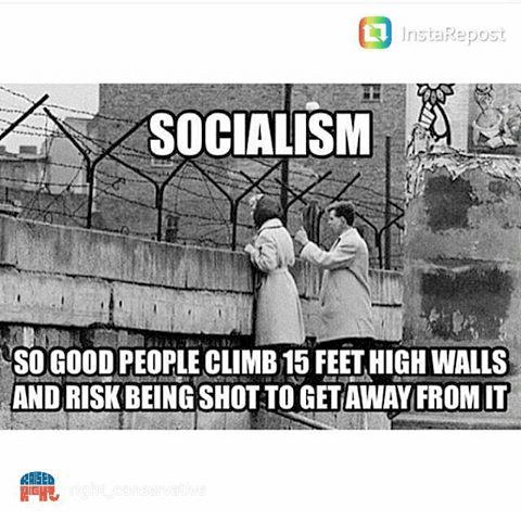 Socialism so good people risk lives to escape