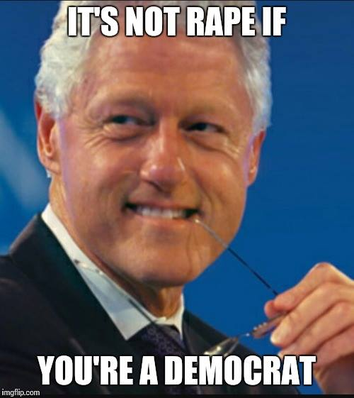 Bill Clinton women rape Democrat