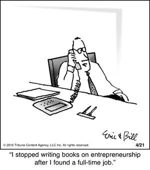 Silly books on entrepreneurship