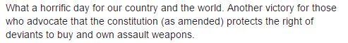 Gun control Orlando