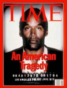 OJ Time Magazine cover 1994