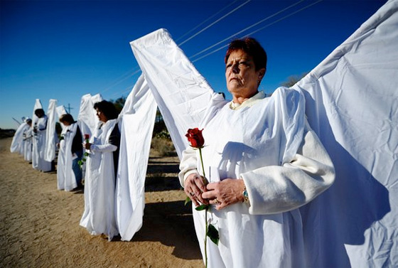 angels and westboro baptists