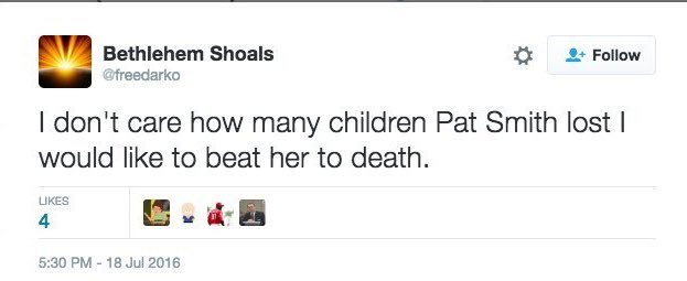 Leftist on Pat Smith