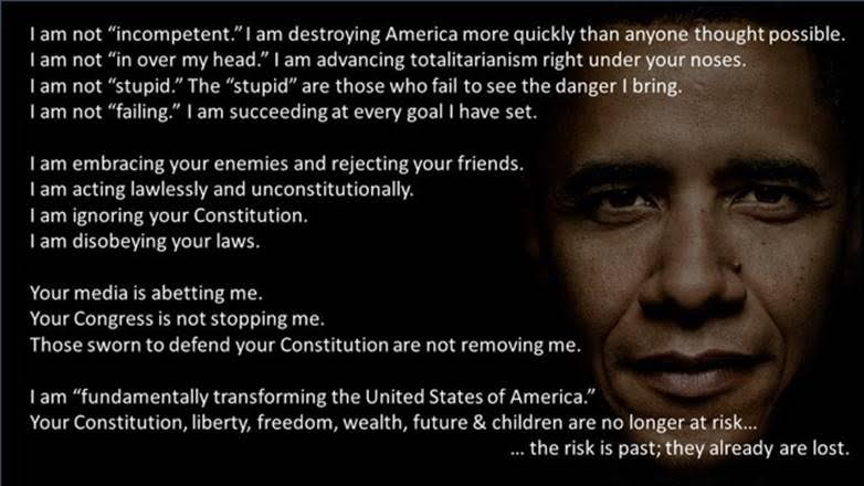 Obama fundamentally transforming America