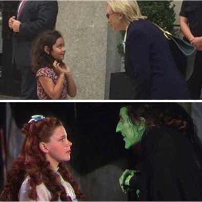 Hillary Wicked Witch of the West