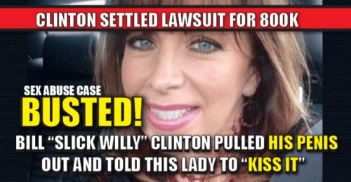 Hillary Bill Clinton Paula Jones settlement