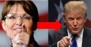 Palin to Trump