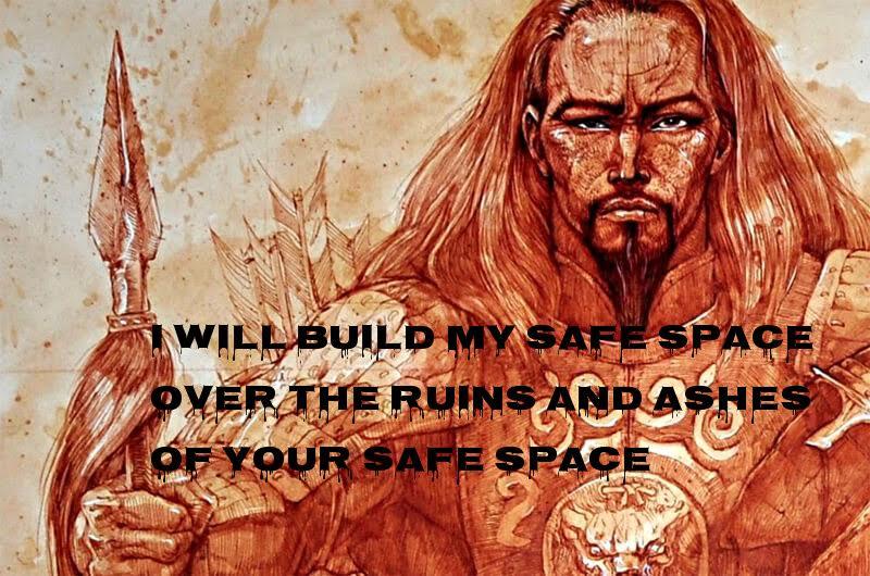 Stupid leftists safe spaces