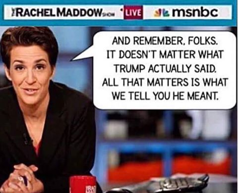Trump media savagery
