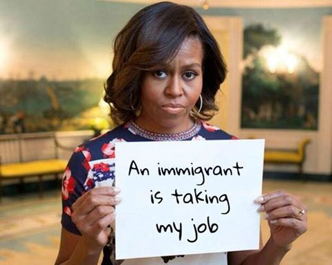 trump-michelle-losing-job-to-immigrant