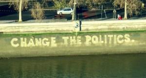 Change the politics