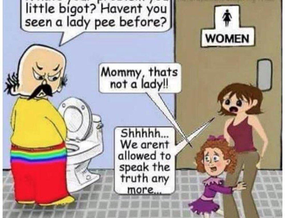 Culture Wars -- transgenders in bathrooms