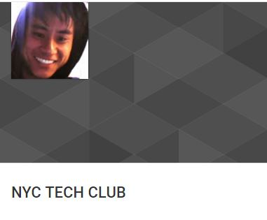 Web design NYC Tech Club