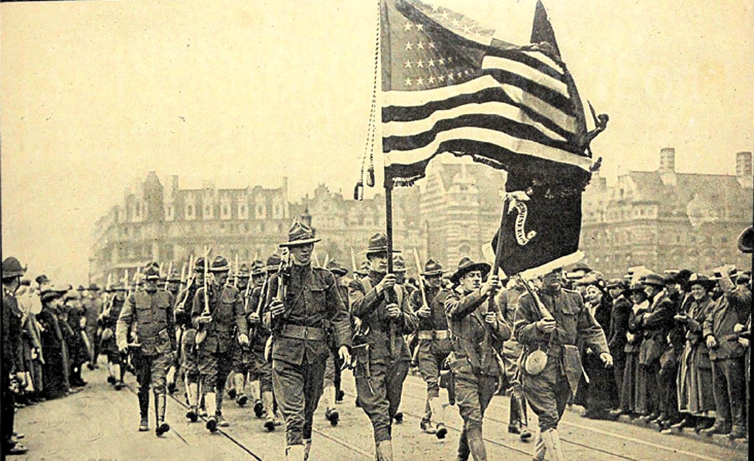 American foreign policy world war one
