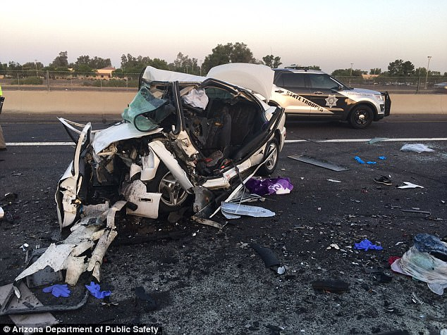 Drive Richardson sisters car after crash