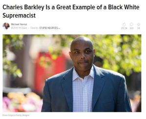 Leftist Insanity Charles Barkley