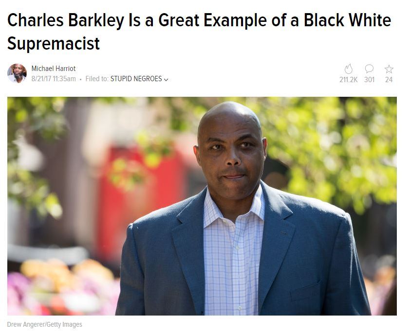 Leftist Insanity Charles Barkley