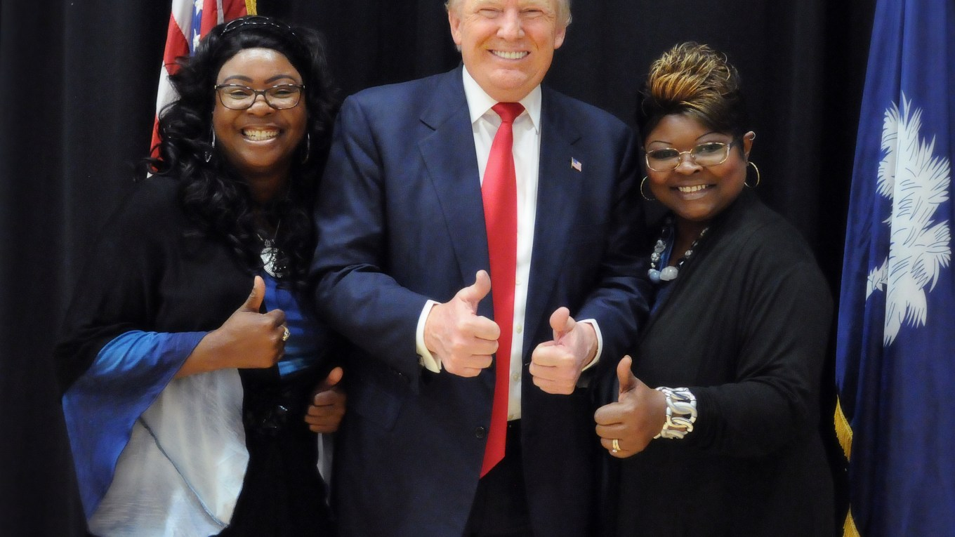 Trump Supporters Racist Donald Trump Diamond and Silk Nationalist's Delusions