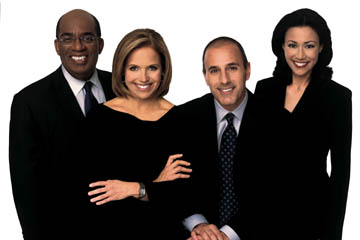 ABC Morning Show Matt Lauer Al Roker Katie Couric Ann Curry