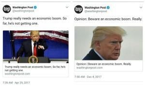 Trump economic boom illustrated edition