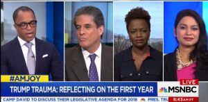 MSNBC Trauma Trump's America