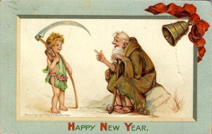New Year's predictions old year and new year