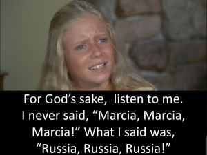 Jan Brady Trump Russia Conspiracy