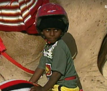 UAE United Arab Emirates Islam Muslim Boy Camel Jockeys