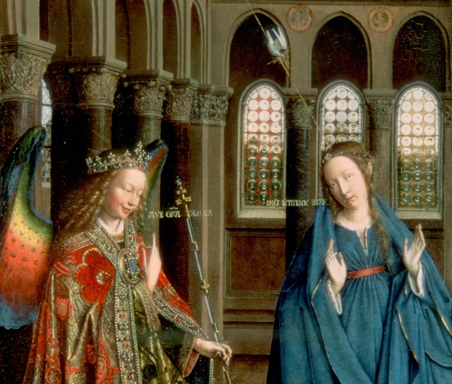 Jan van Eyck The Annunciation