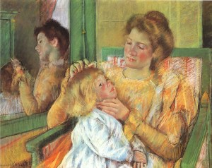 Candace Owens Motherhood Mary Cassatt