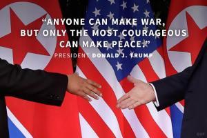Trump peace North Korea Predestination