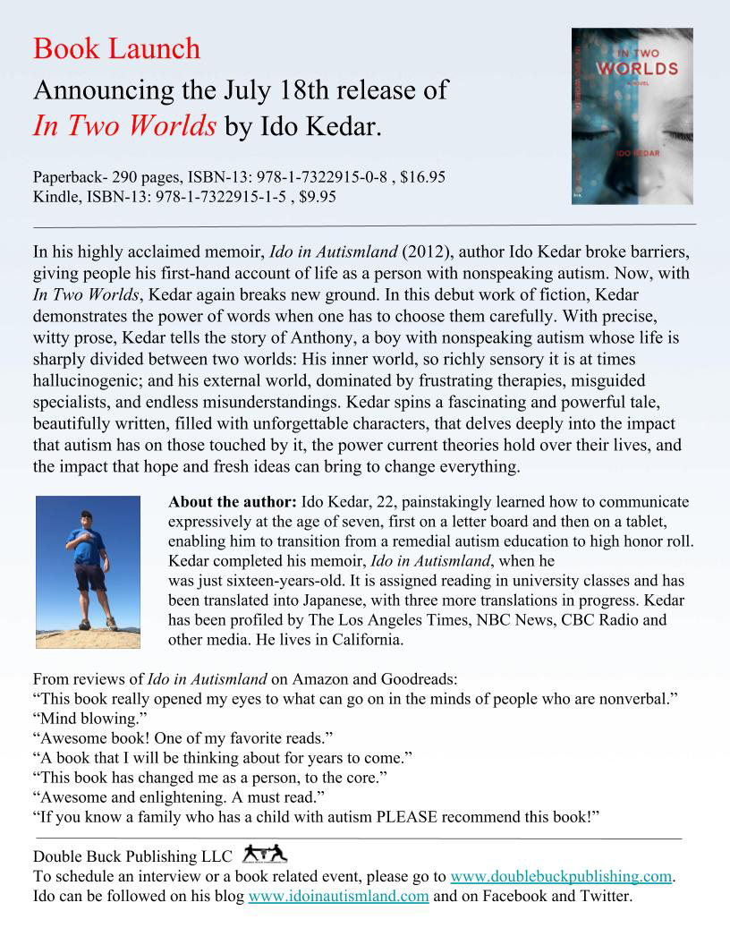 Ido Kedar In Two Worlds Press Release