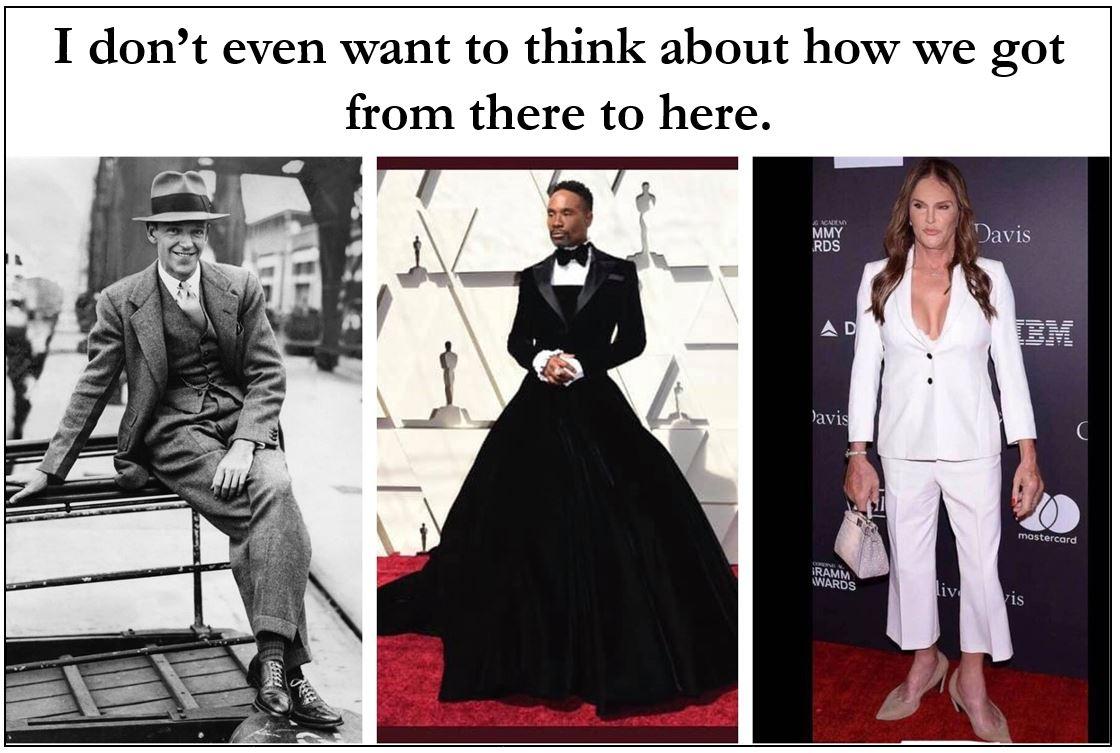 Oscars Billy Porter Bruce Jenner Caitlyn Jenner Fred Astaire