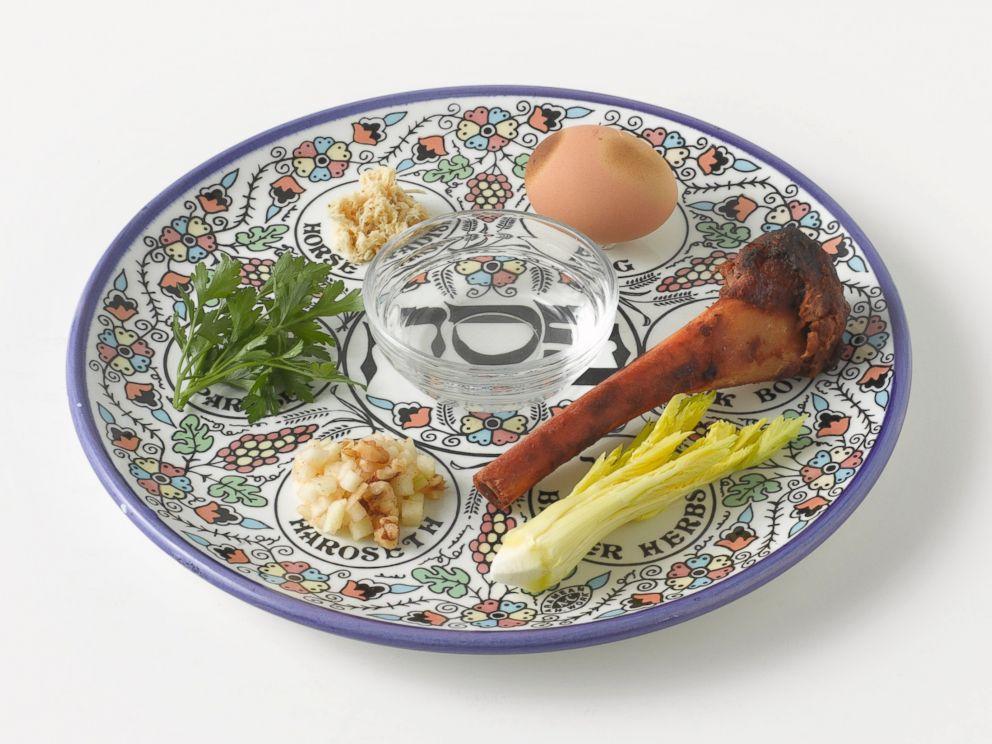 Religion Judaism Passover Seder Plate