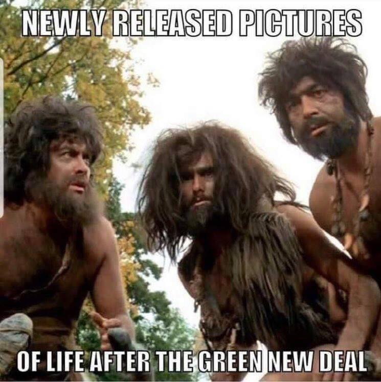 Stupid Leftists environment new green deal