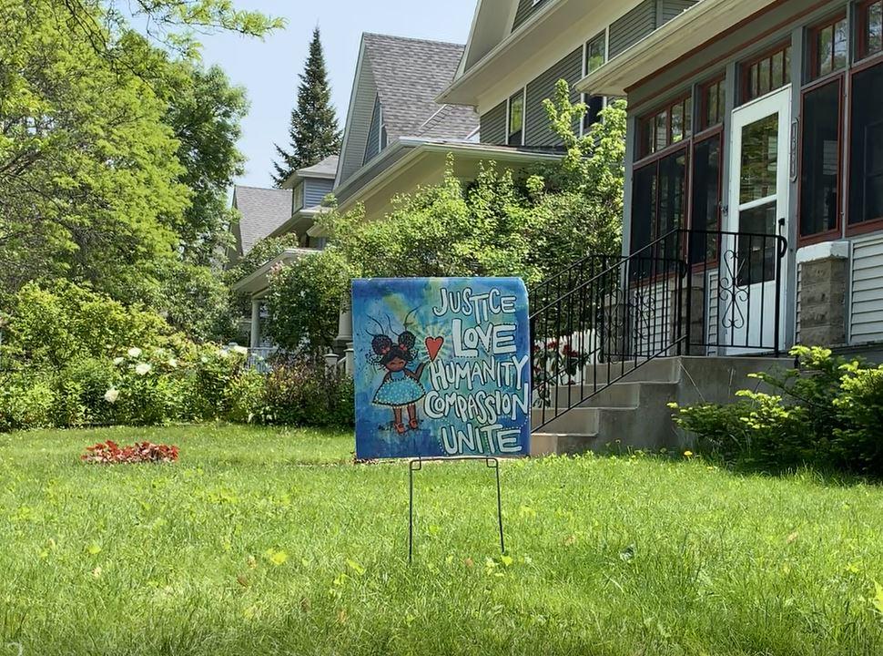 Virtue signaling Minnesota St. Paul
