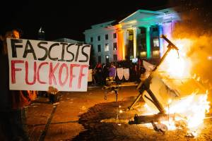 Not right-wing extremism but left-wing extremism