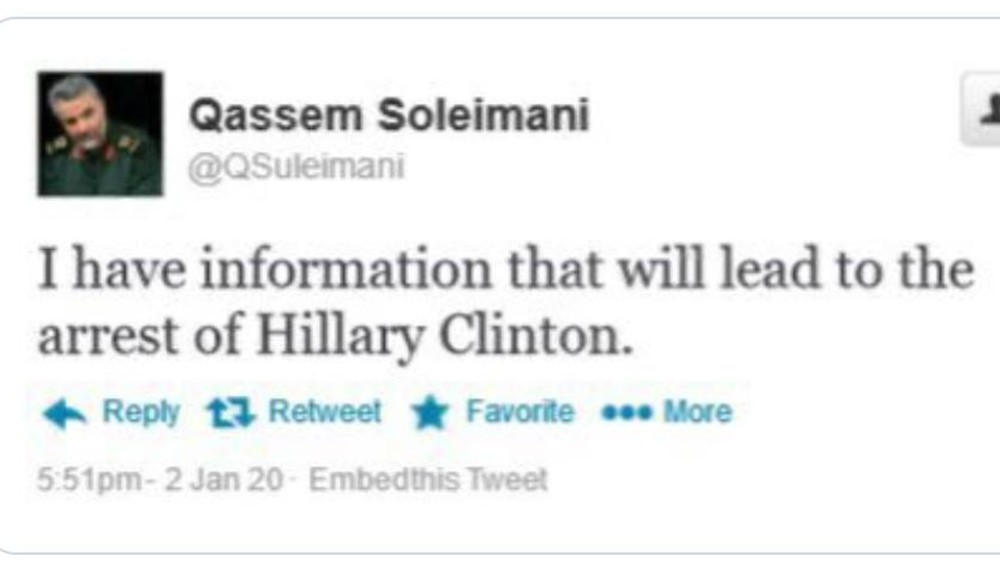 Iran Hillary Soleimani
