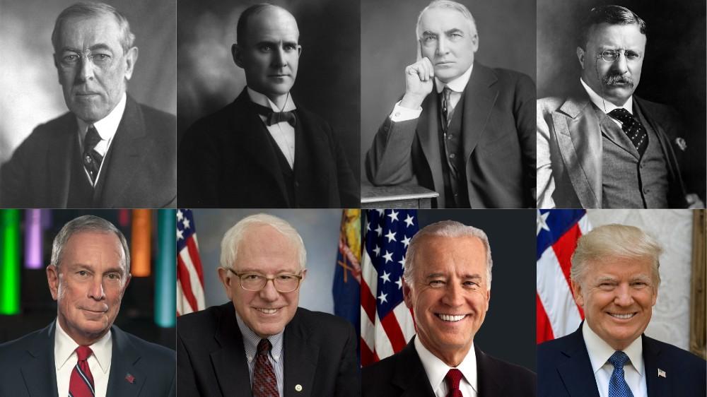 Running for president 1920-2020