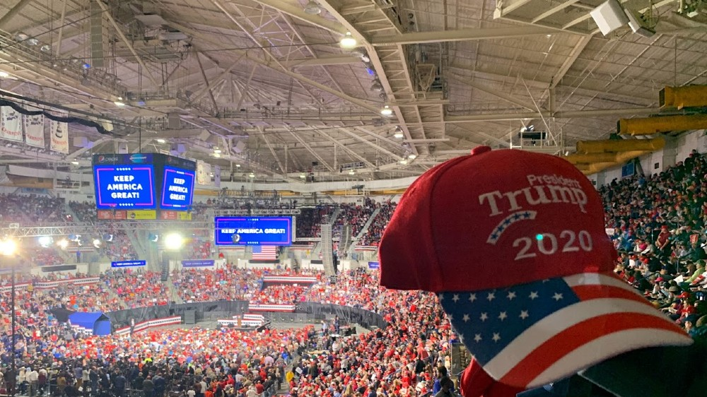 Trump rally Charleston South Carolina 2020
