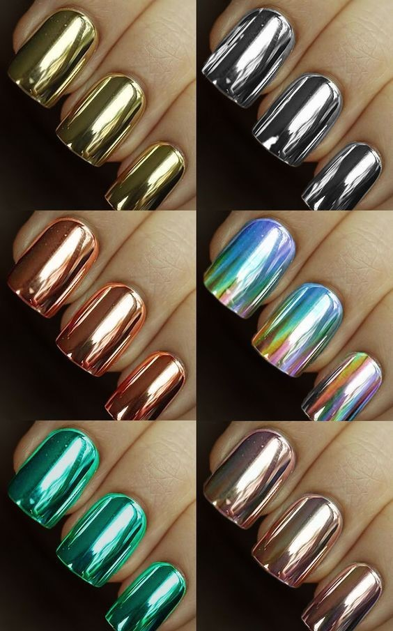Feel Like Royalty This Spring With A Lick Of Metallic Polish The Golds Silvers And Shimmery Colours Will Add Bit Glitz To Your Everyday Look